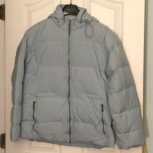 Blue Old Navy winter coat size L